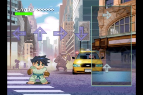 A Arrow Fighter Mini ~ FREE arcade street fight fun with friends screenshot 1