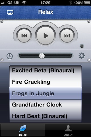 download Relaxing Sounds for Apple TV apps 1
