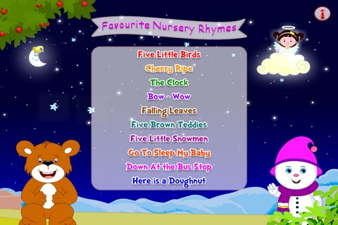 Favorite Nursery Rhymes screenshot 1
