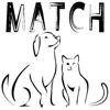 Cats and Dogs Matching Game HD