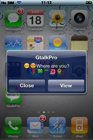 1st Gtalk Pro(Free) screenshot 2