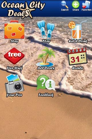 Ocean City Deals screenshot 1
