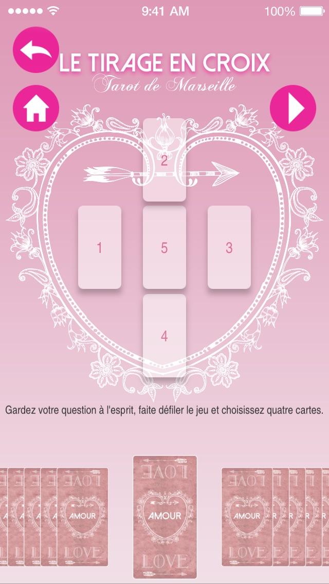 download Tarot de Marseille Amour apps 1