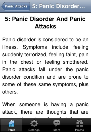 How to Stop and Cure Panic Attacks screenshot 4