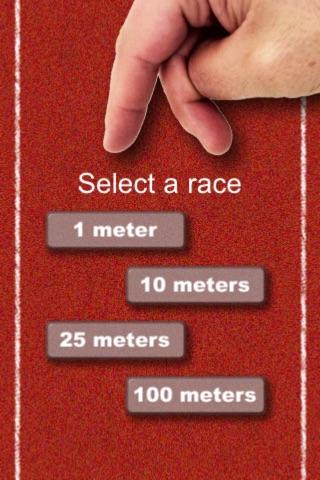 Finger Sprinter screenshot 1