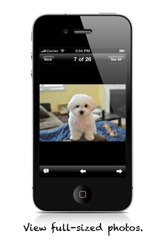 Captura de pantalla del iPhone 3