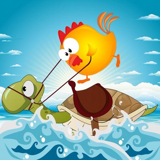 小鸡和海龟:Chicks and Turtles【可爱休闲】