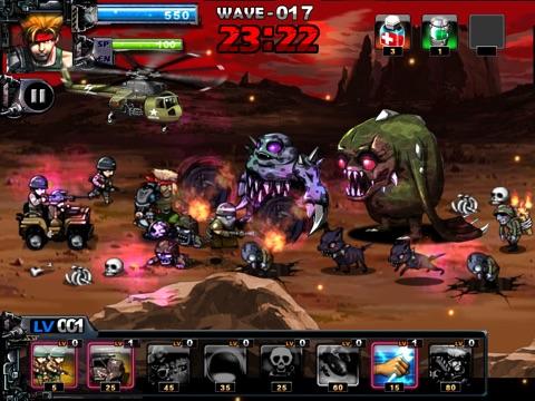 Screenshot #2 for ARMY VS ZOMBIE