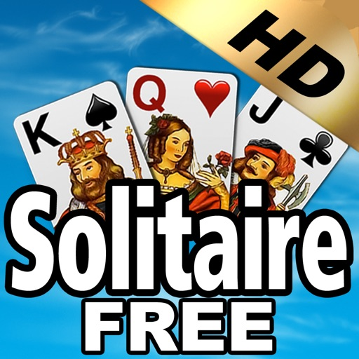 Free Solitaire HD iOS App