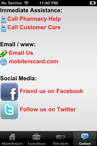 Mobile Rx Card - Prescription DiscountsScreenshot of 4