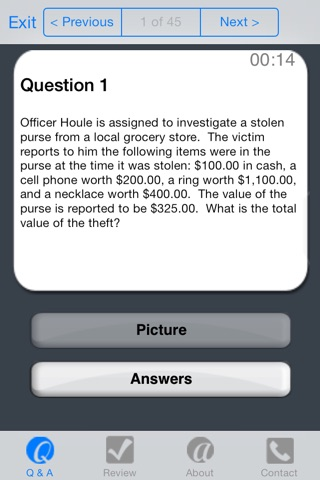 PolicePrepLite screenshot 4