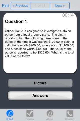 PolicePrepLite screenshot 4