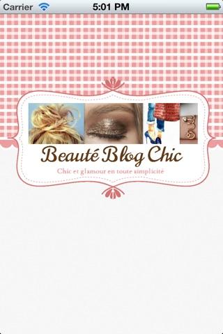 Beauté Blog Chic - Conseils maquillage et cosmétiques screenshot 1