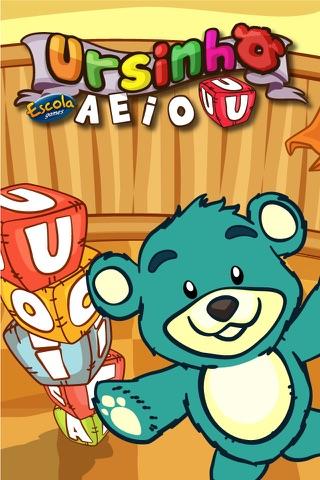 Ursinho A E I O U screenshot 1