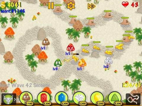mushroom farm defense hd ipad app appwereld