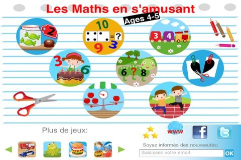 Math is fun: Age 4-5 screenshot 1