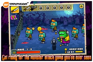 Screenshot #6 for Monster Mayhem - Zombie Shooting And Tower Defence
