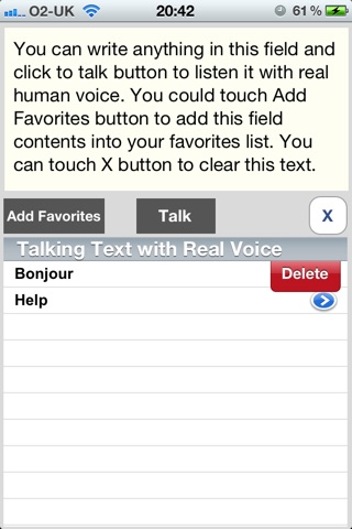 Talking Text with Real Human Voice screenshot 1