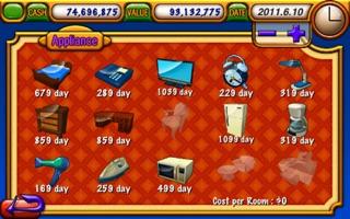 Screenshot #4 for Hotel Tycoon