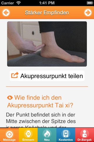 Best Sex with Chinese Massage Points - FREE Acupressure Trainer for Women and Men screenshot 2