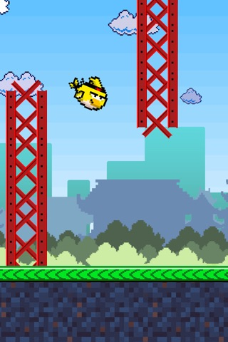 Birdie Fly Away - fly through pipes and have fun screenshot 4