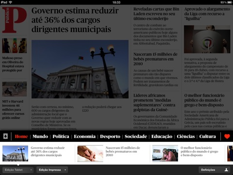 Público HD screenshot 2
