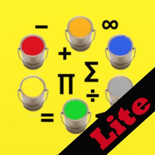 MathColoring Lite iOS App