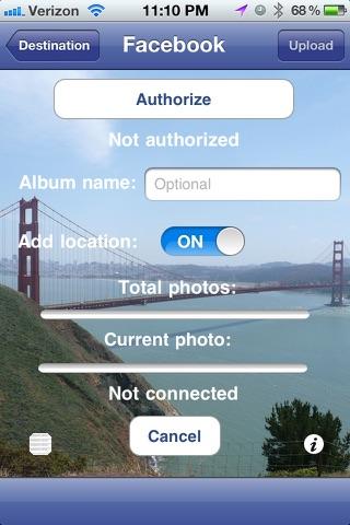 PhotoUpLink screenshot 3