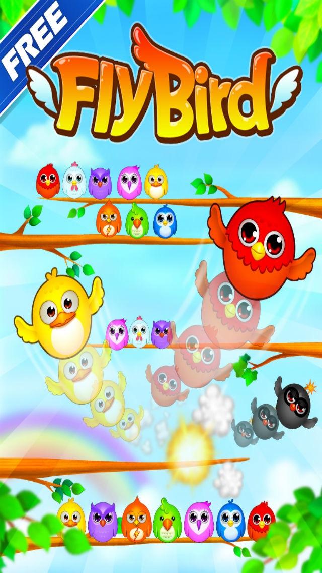 フライバード(Fly Bird 3.0) Free 3のスクリーンショット1