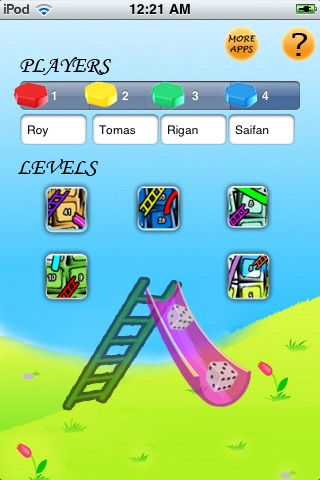 Chute and Ladder - iPhone Version screenshot 1