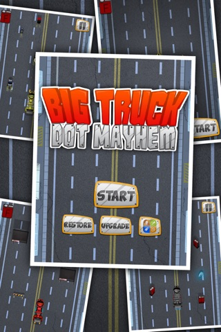 Big Truck Dot Mayhem-Gem City Racing Free by Appgevity LLC screenshot 1