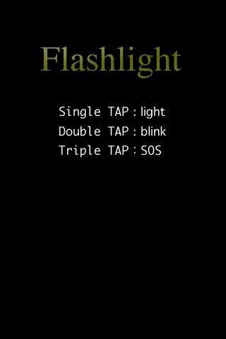 Screenshots of Flash-Light for iPhone