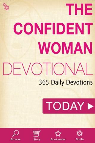 The Confident Woman Devotional screenshot 1