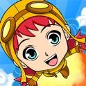 Steam Jump - Flying Steampunk Super Hero icon
