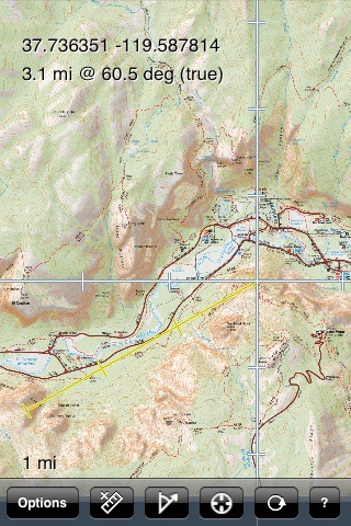 Yosemite valley trail map by earthrover software yosemite valley trail map publicscrutiny Choice Image