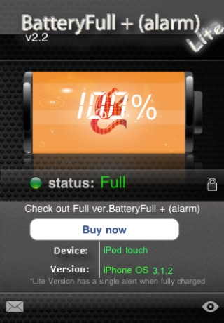 BatteryFull + (Alarm) FREE screenshot 1
