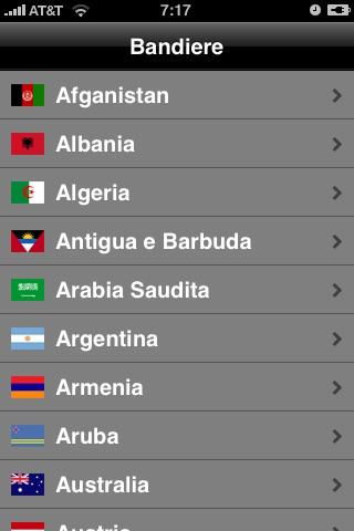 Flags screenshot 1