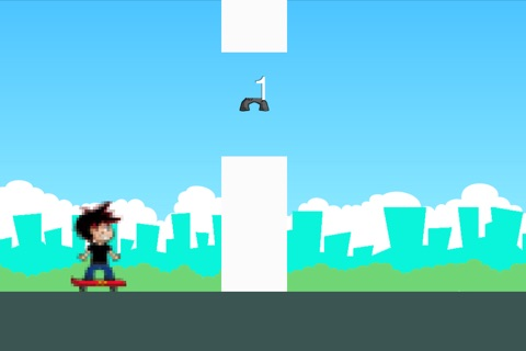 Don't Hit the White Pipes: Tap and Step on It screenshot 2