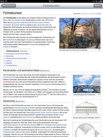 Wiki Around Me Screenshot