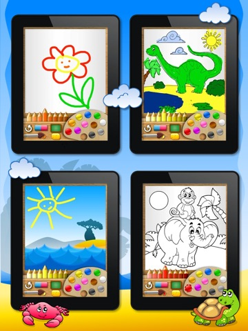 Abby Monkey® - Painter Star: Draw and Color - My First Coloring Book screenshot 3