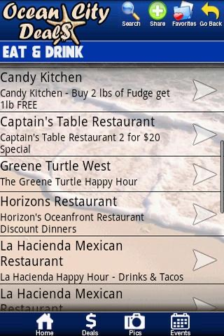 Ocean City Deals screenshot 2