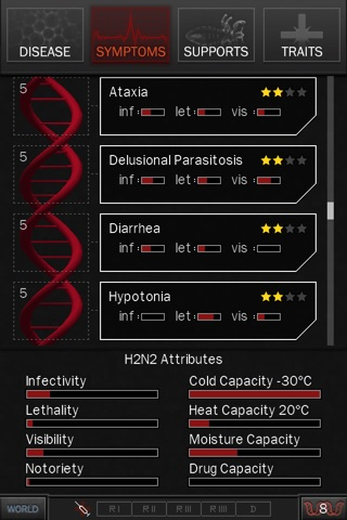 Screenshots of Pandemic 2.5 for iPhone