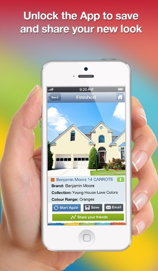 Paint Your House App paint my place - realistic color painter and editor. virtually