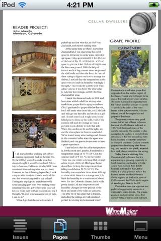 WineMaker Magazine Mobile Скриншоты6