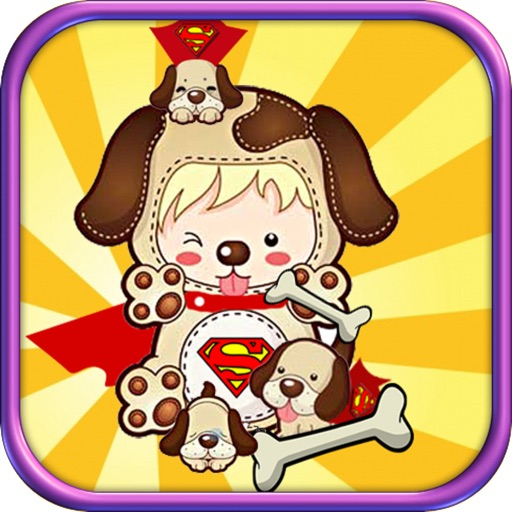 Flying Big Dog Pitbull: Roll my Super Dog to bones and Save him from hungry iOS App