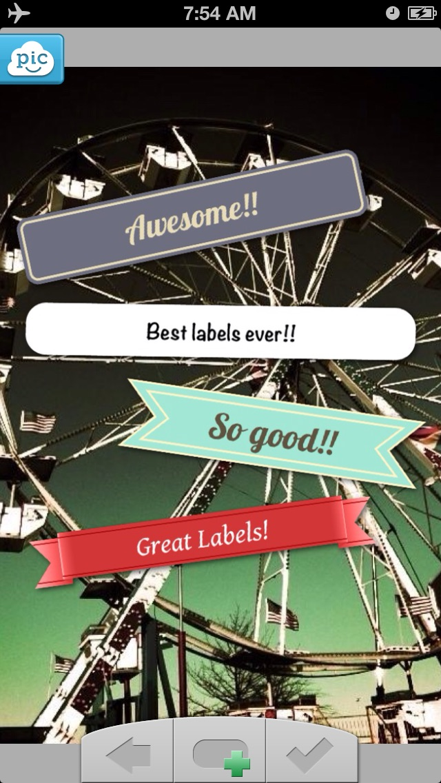 Labels - Bring your photos to life!Screenshot of 1