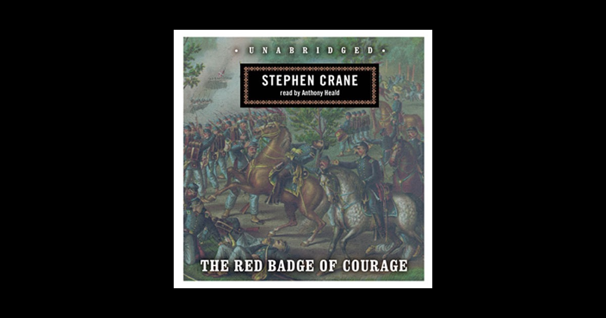 a comparison of the red badge of courage by stephen crane and keenans charge by george lathrup