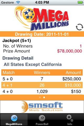 USA Lottery screenshot 2