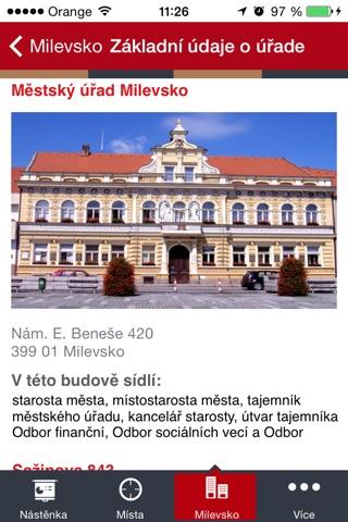 Milevsko screenshot 2