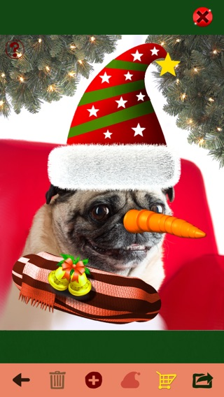 Santa me christmas photo booth make yourself and yr friends into iphone screenshot 1 solutioingenieria Image collections